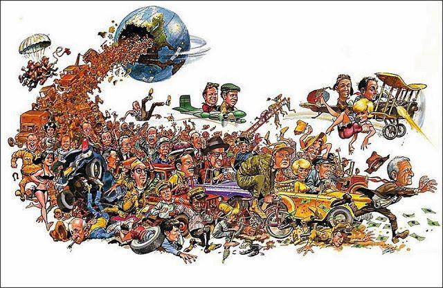 D R E W • F R I E D M A N: Jack Davis's Mad, Mad, Mad, Mad World