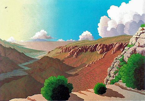 Doug West - Evening Song of Water Canyon