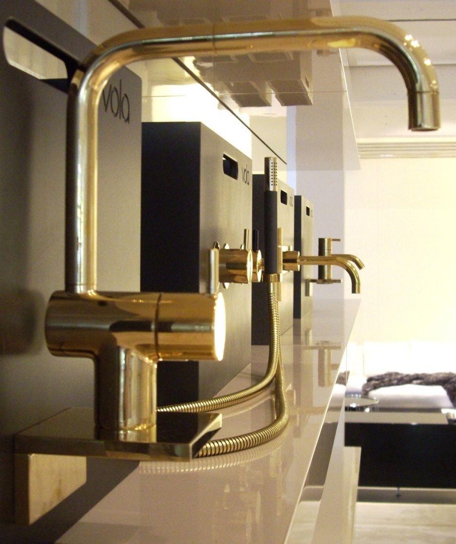 vola kv1 19 natural brass special order liquid design. Black Bedroom Furniture Sets. Home Design Ideas