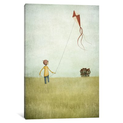 East Urban Home Kite Runner Canvas Art Size: