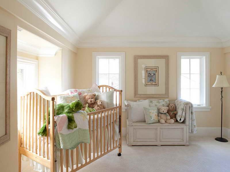 The best benjamin moore antique white for baby nursery for Benjamin moore french white