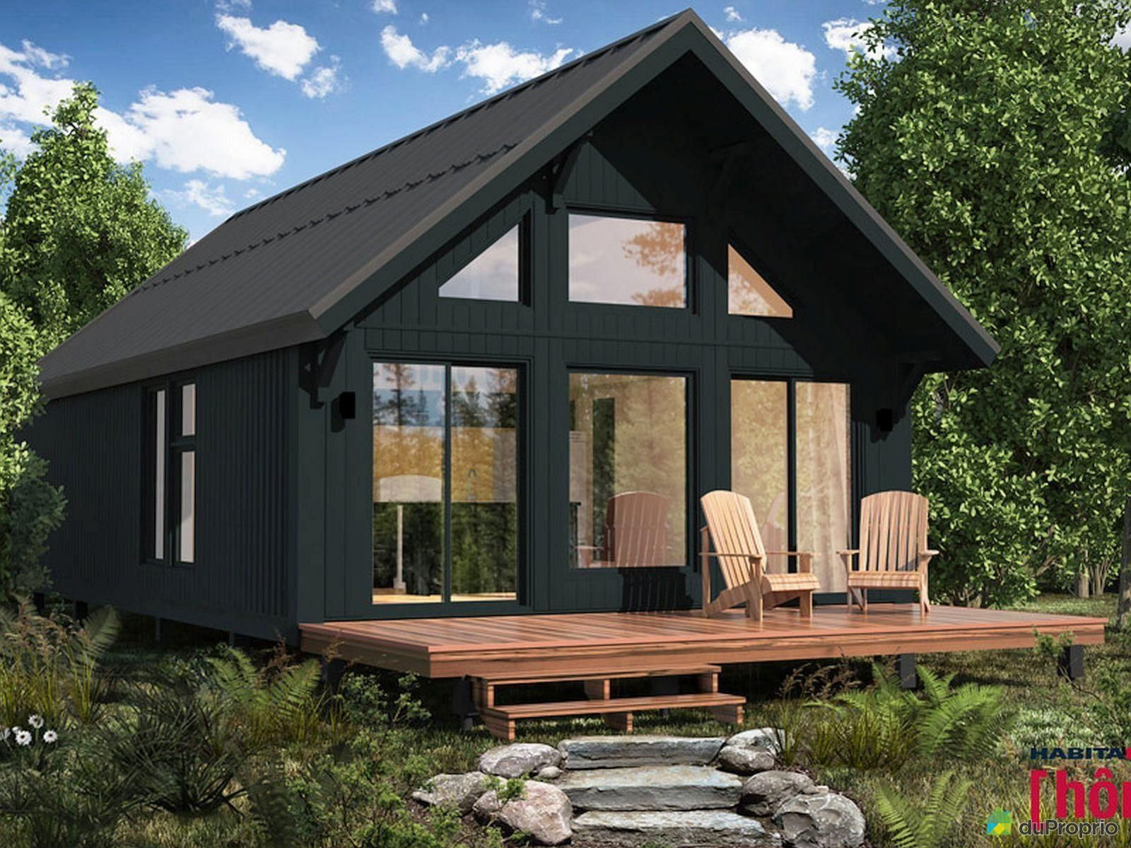Chalets à Vendre St Isidore In 2020 Cottage Plan Small