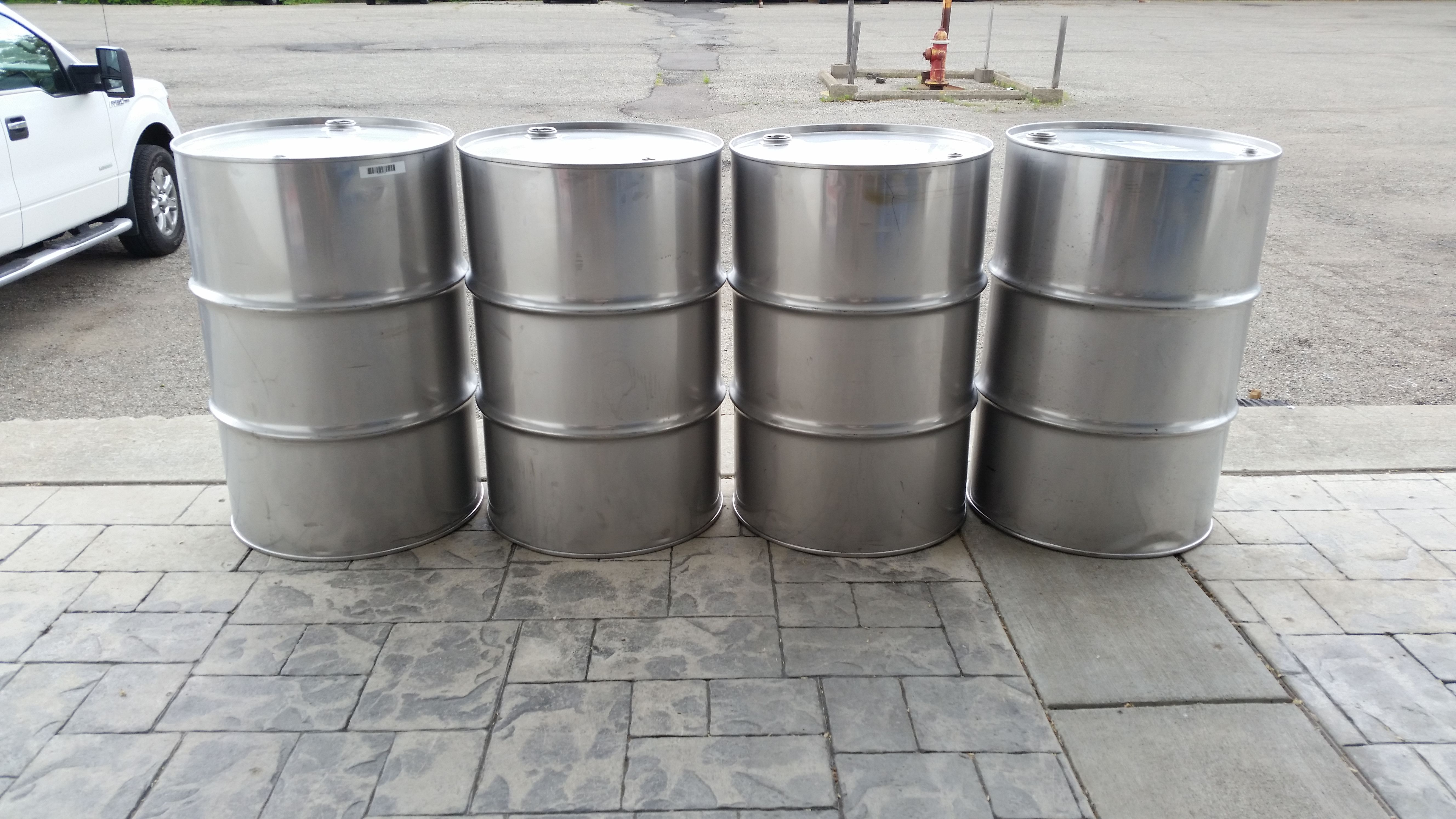 New Used Stainless Steel Barrels Plastic Barrels Steel Barrel Stainless Steel Accessories Barrel