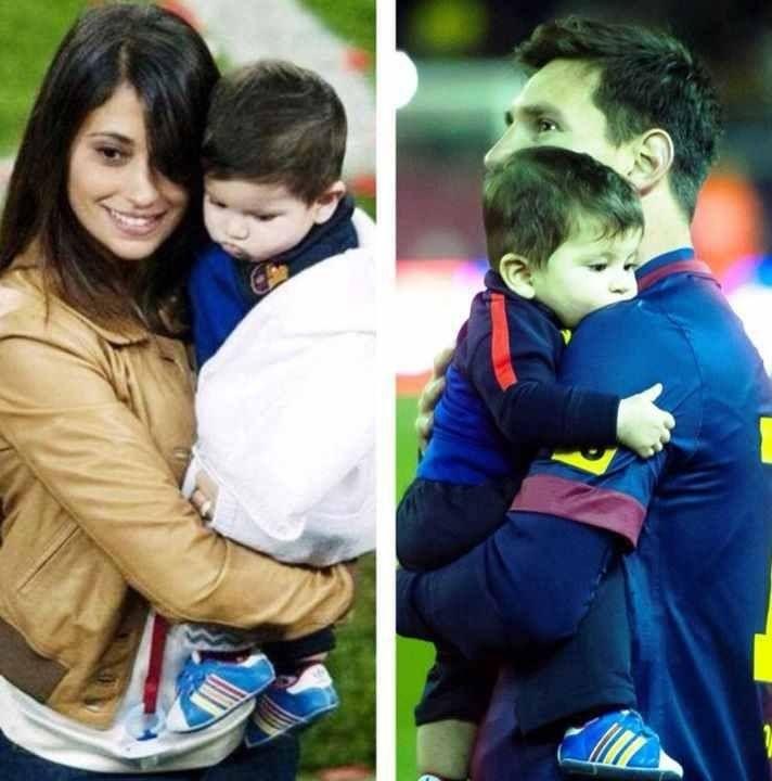 Messi, Antonella, Thiago