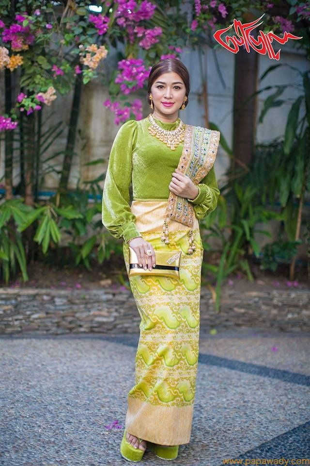 Eaindra Kyaw Zin Academy Award Fashion Style Myanmar Dress Design Academy Awards Fashion Fashion