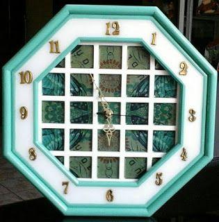 Inkart : Clock eight sides