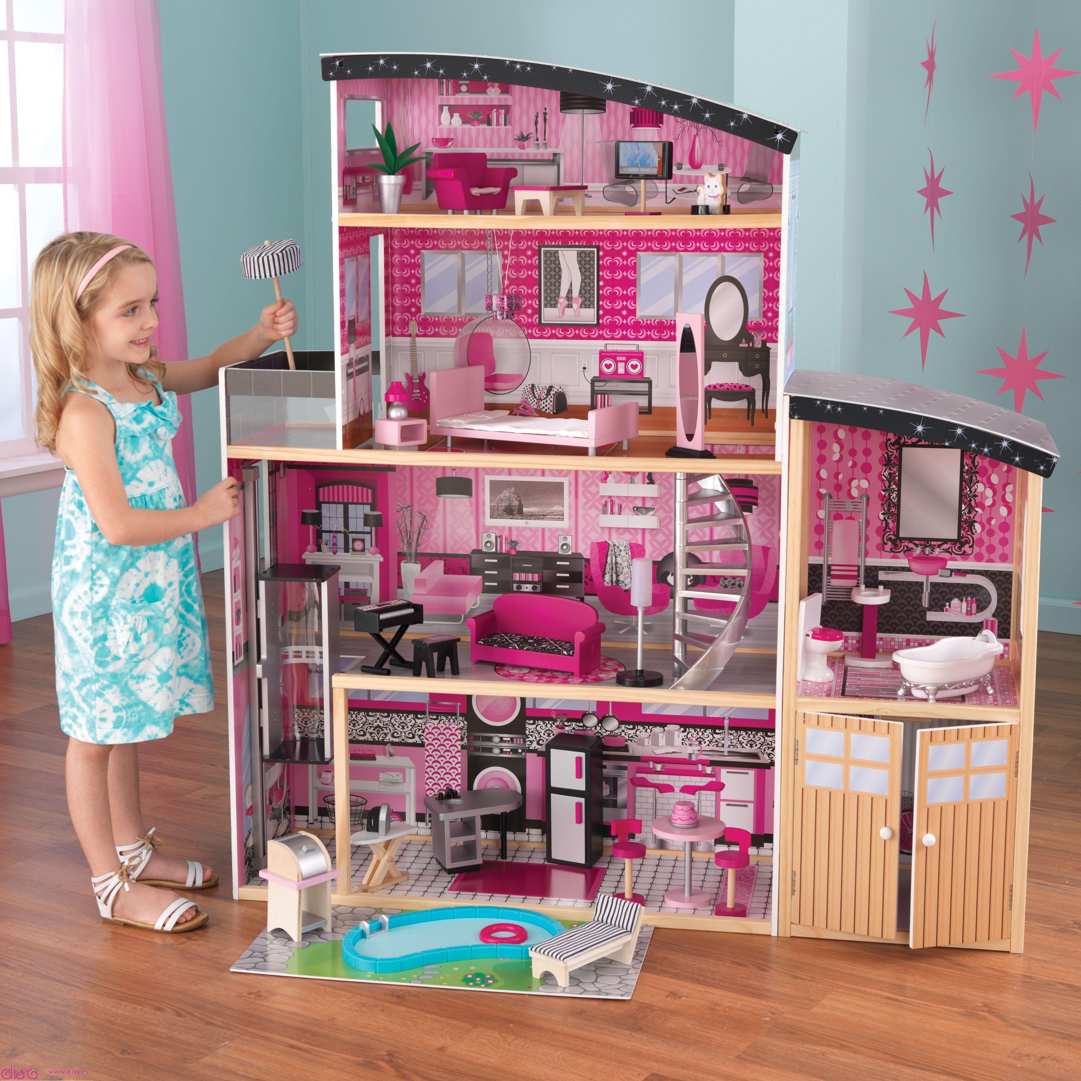 Casas de muñecas infantiles Kidkraft- Mansión SPARKLE - EN EXCLUSIVA ...