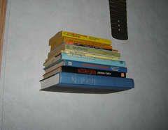 The invisible bookshelf.