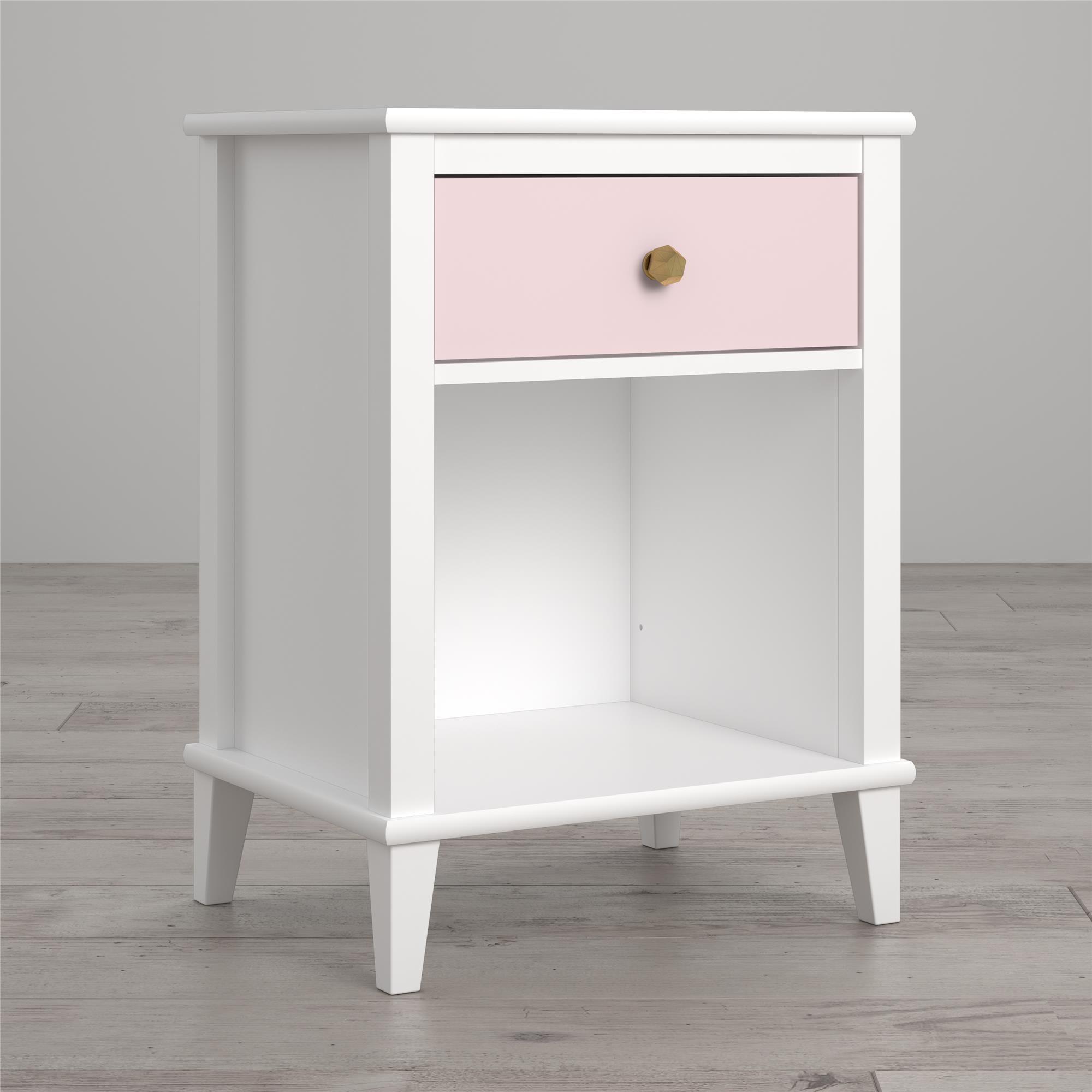 Home White nightstand, Pink nightstands, Gray nightstand