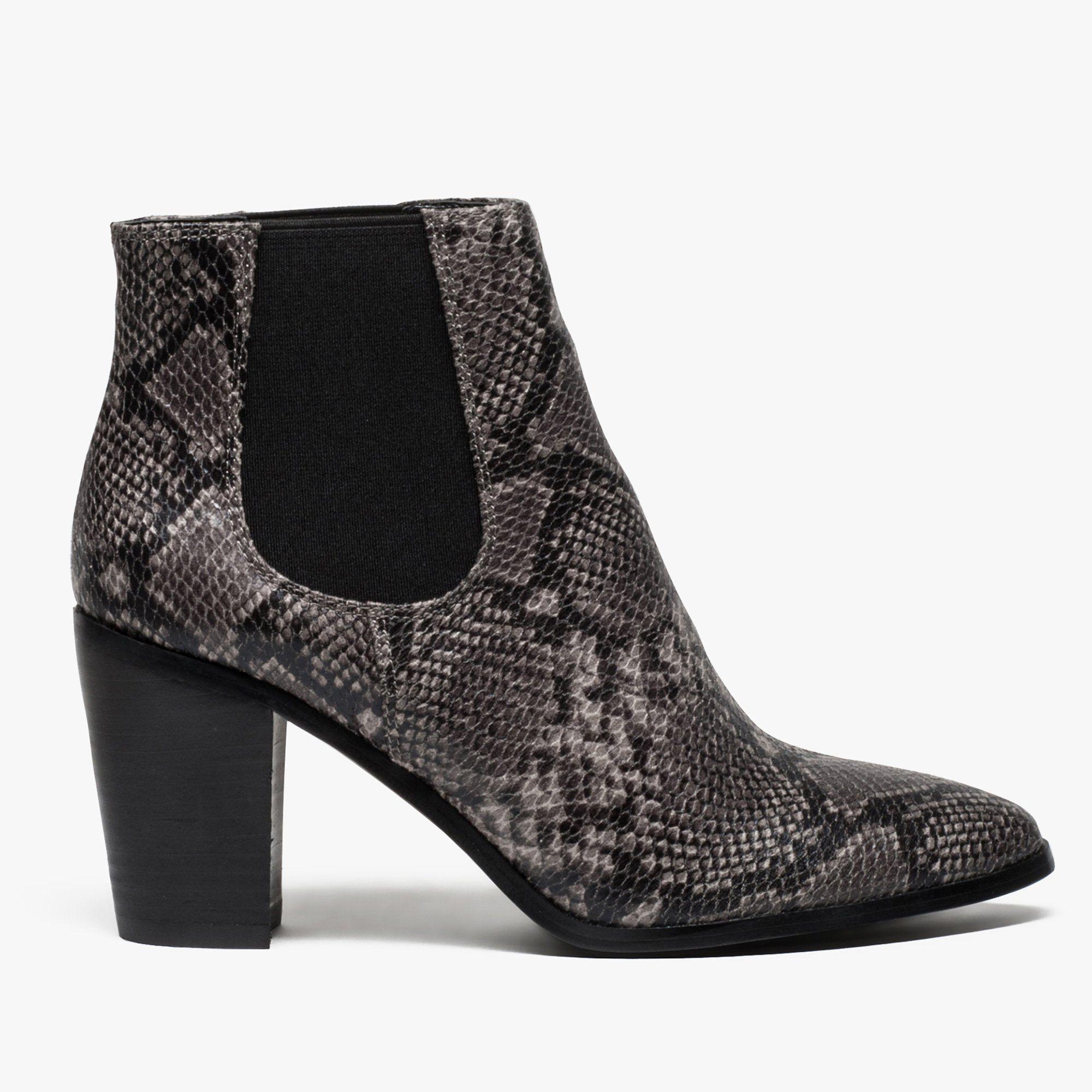 chaussure façon bottines