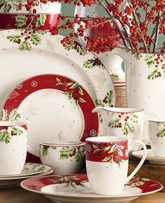 Dinnerware Christmas Tableware Table Decorating Fashion And Fun