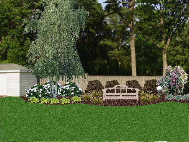 Google Image Result for http://community.southernliving ... on Backyard Landscaping Along Fence id=51830