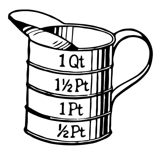 Ephemeraphilia Free Vector Art Measuring Cup Free Vector Art Vector Free Art