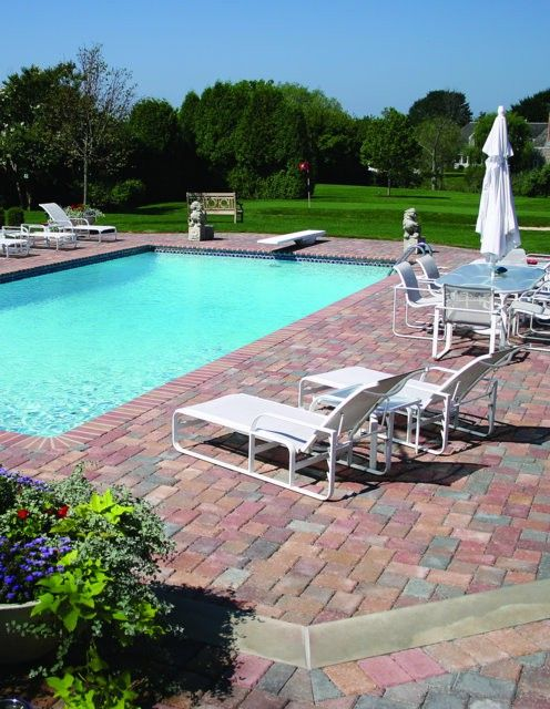 Pool Decks Colored With Davis Colors Concrete Pigments   Davis Colors