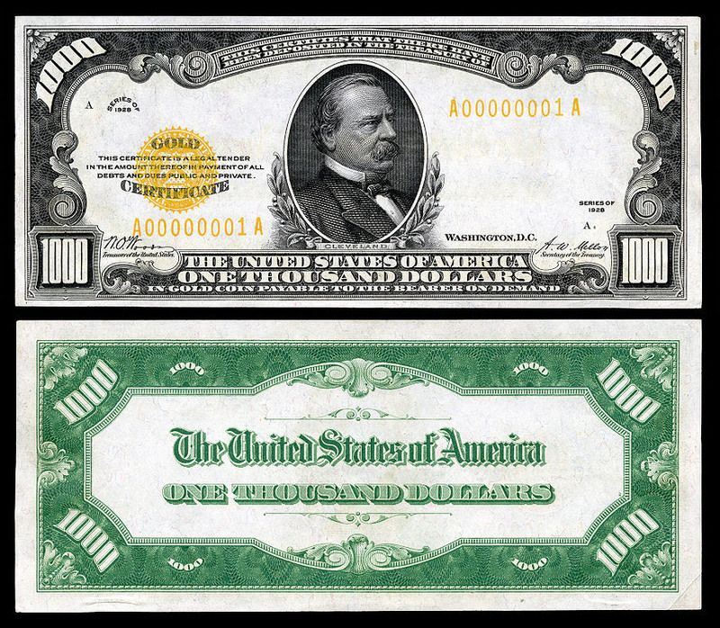Zeroes After Zeroes The World S Highest Currencies 1000 Dollar Bill Thousand Dollar Bill Paper Currency