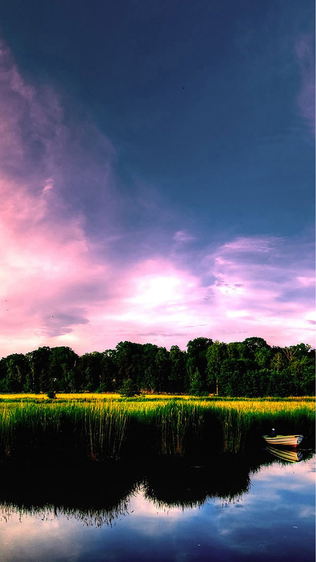 Nature Calm Lake Landscape Iphone 6 Plus Wallpaper Forest Landscape Lake Landscape Scenery Wallpaper