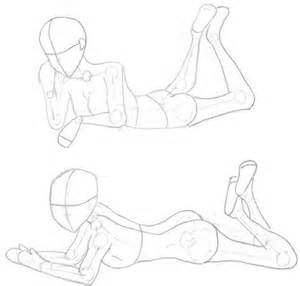 How To Draw Person Laying Down Body Drawing Person Drawing Drawing Templates