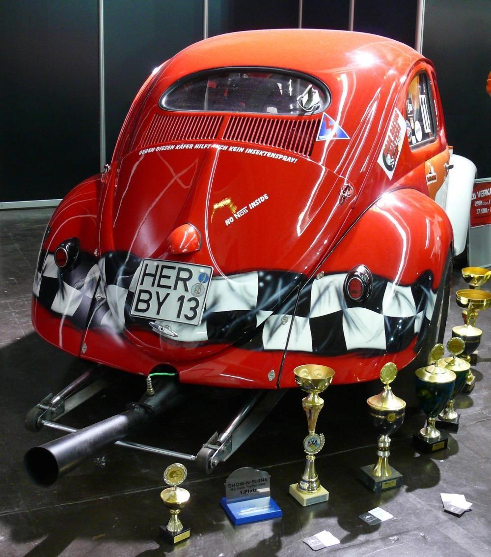Red VW Kafer