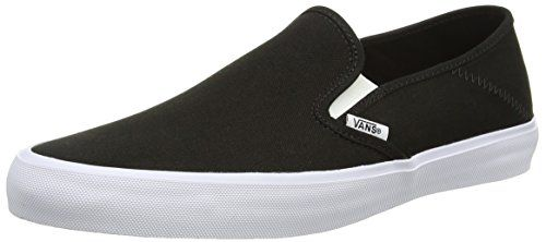 Vans Classic Slip-on, Unisex-Erwachsene Sneakers, Schwarz (Braided Suede/Black), 38.5 EU