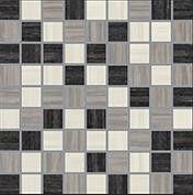 E-Stone Mixed 1.5x1.5 Mosaic Porcelain Tile 1 sf