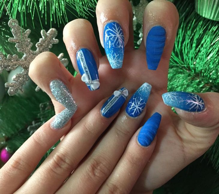 29 Awesome New Year Nails Designs For Winter Nails 2017