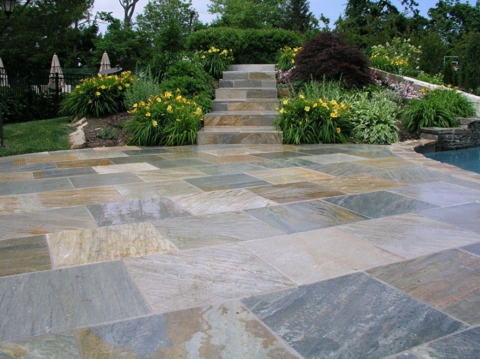 Exquisite Patio Recycled Rubber Pavers And Walkway Step