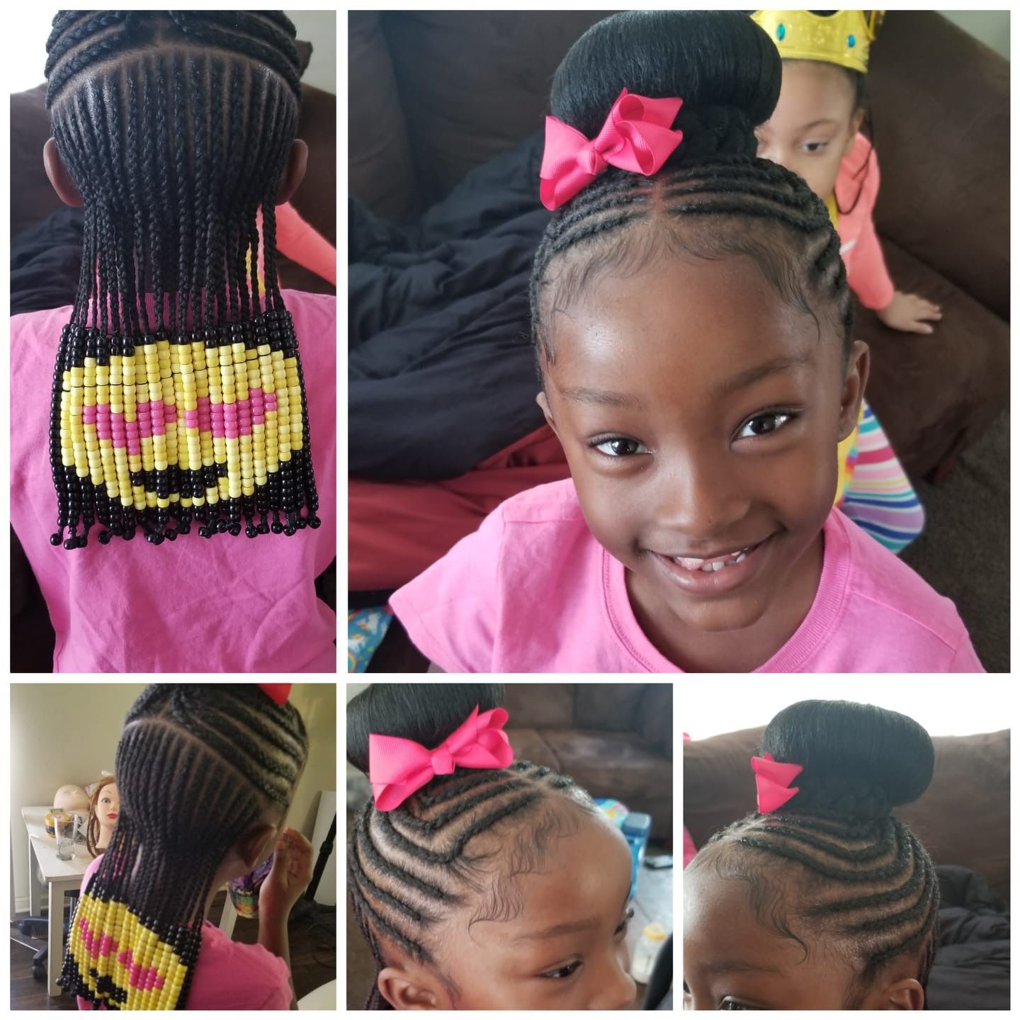 Pin By Valerie Choate On Biracial Hair Braids For Kids Hair Styles Toddler Braided Hairstyles