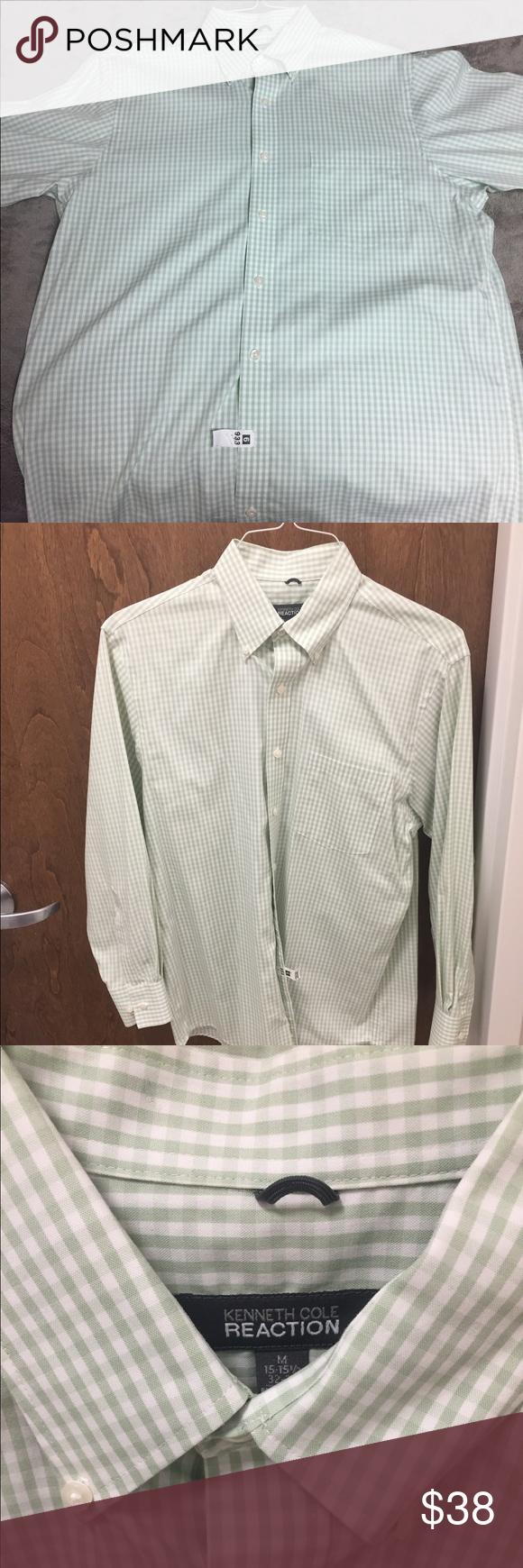 Kenneth cole reaction long sleeve dress shirt dress shirts