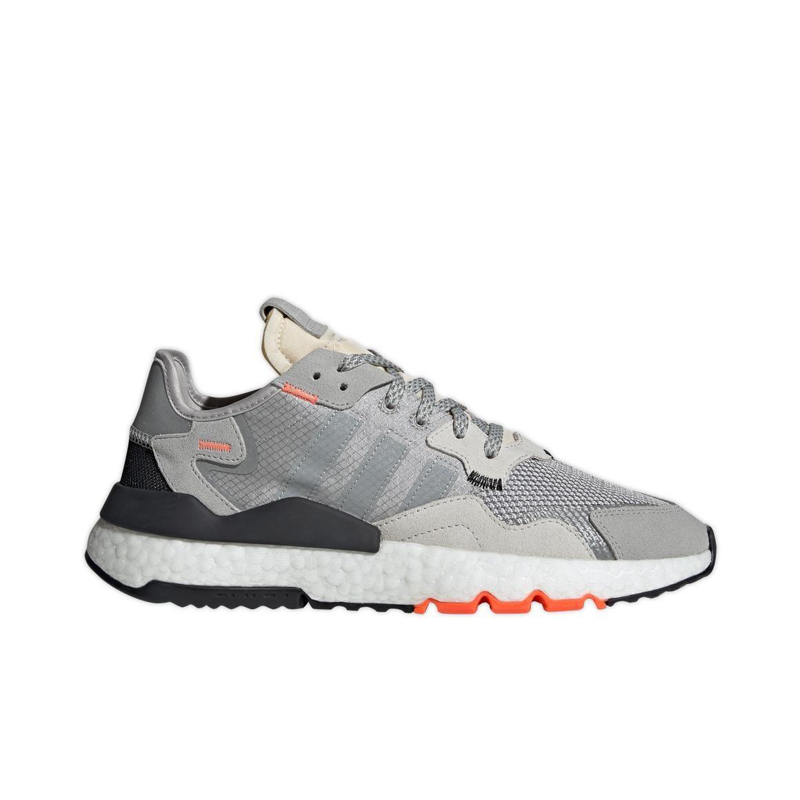 "adidas Nite Jogger ""Grey Two/Solar Orange"" Men's Shoe"