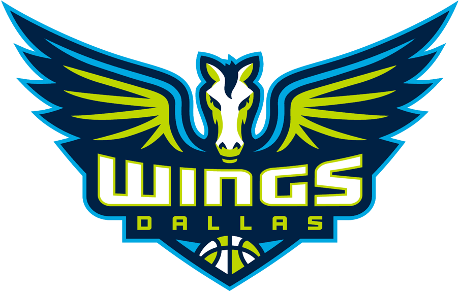 WNBA Map Wings logo, Logo basketball, Dallas