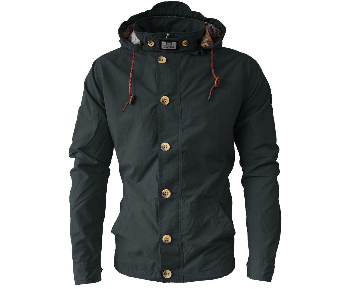74494cfe3c05 Weekend Offender El Nino Jacket Black - Terraces Menswear | Clobber ...