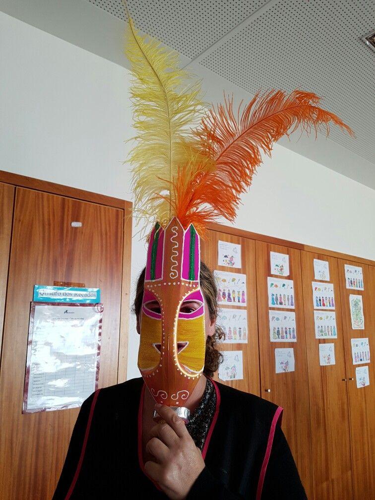 máscara Paty