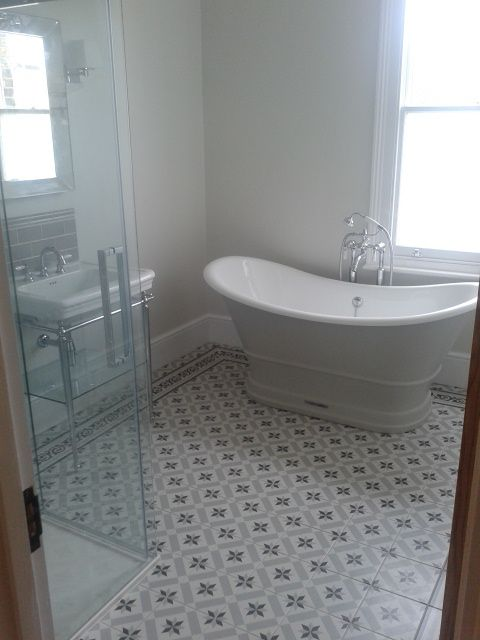 Fired Earth Patisserie Tiles Simple Bathroom Remodel Diy Bathroom Remodel Basement Bathroom Remodeling
