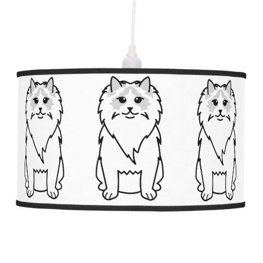 Ragdoll Cat Cartoon Cat Lamp Ragdoll Cat Pendant Lamp