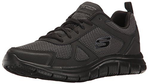 774598c892f5e Skechers Sport Mens Track Oxford Black 13 M US     Read more at the ...