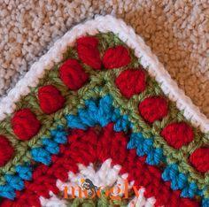 Polka Dot Crochet Edging - free pattern. This is so pretty