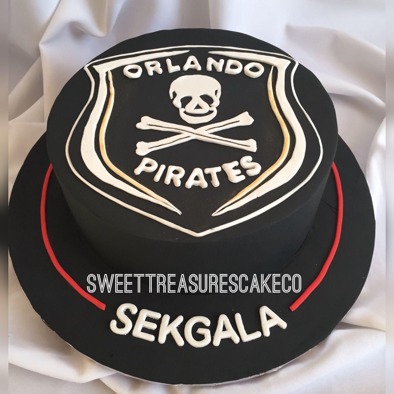 Pleasant Amabhakabhaka Made This Orlando Pirates Cake To Funny Birthday Cards Online Elaedamsfinfo
