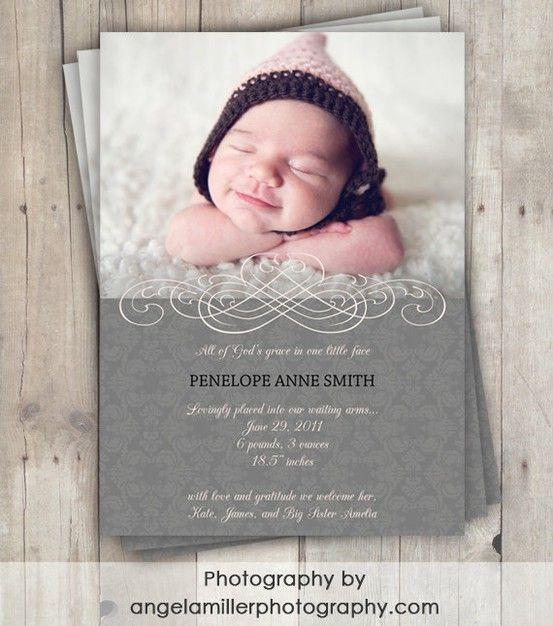 adoption announcements Adoption birth announcement Bennett