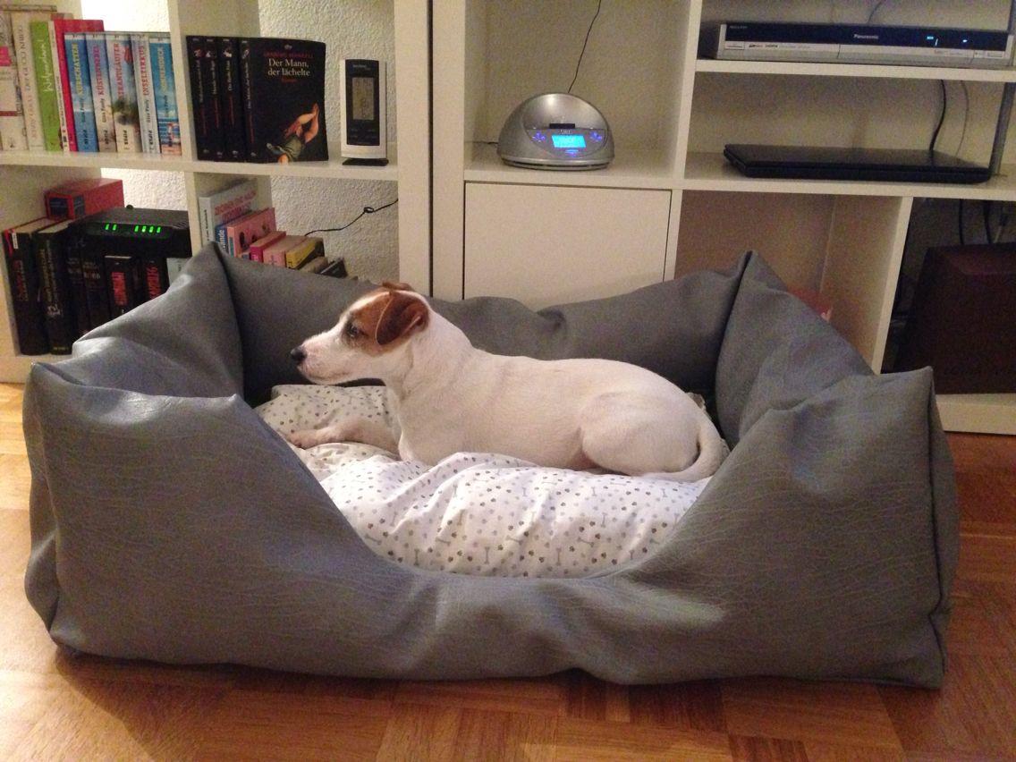 Hundebett Nummer 8 für Pepe | Näharbeiten | Pinterest | Hundebett ...