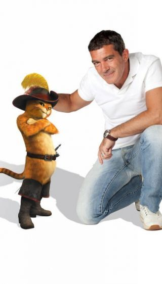 Antonio Banderas as Puss in Boots