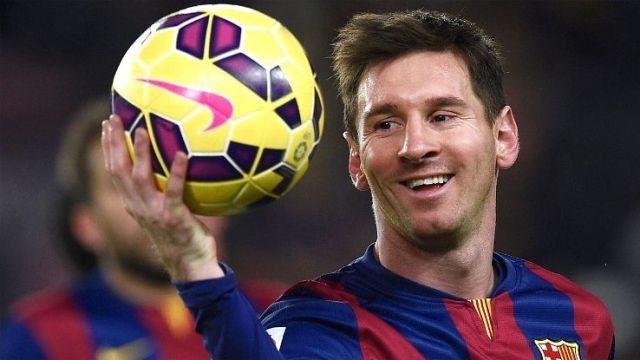 Messi Pemain Terbaik UEFA 2014-2015