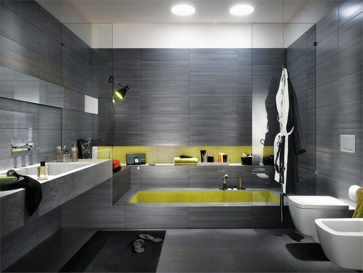 Carrelage salle de bains par Fap Ceramiche- 60 idées design - image carrelage salle de bain