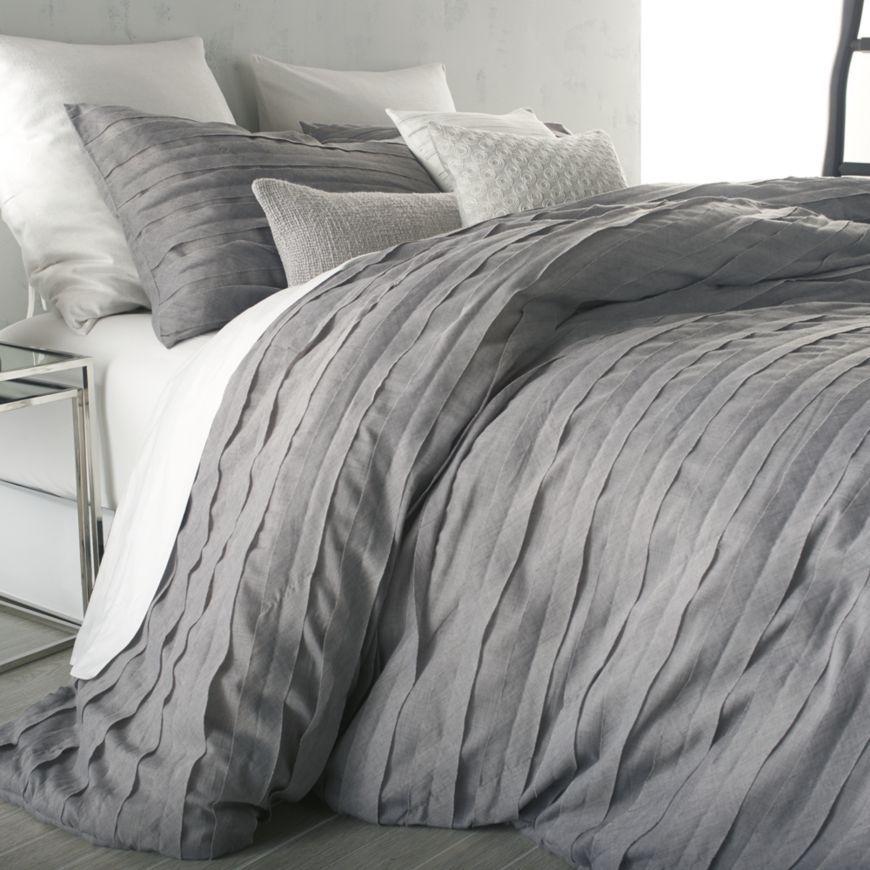 dkny loft stripe grey duvet cover king