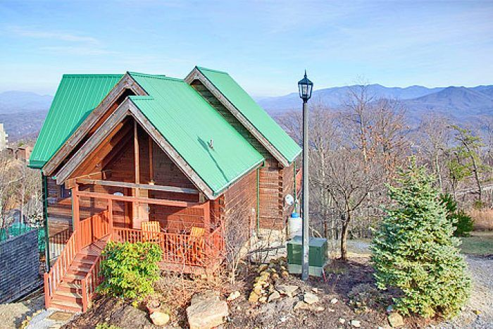 feel like you re on top of the world from your gatlinburg chalet