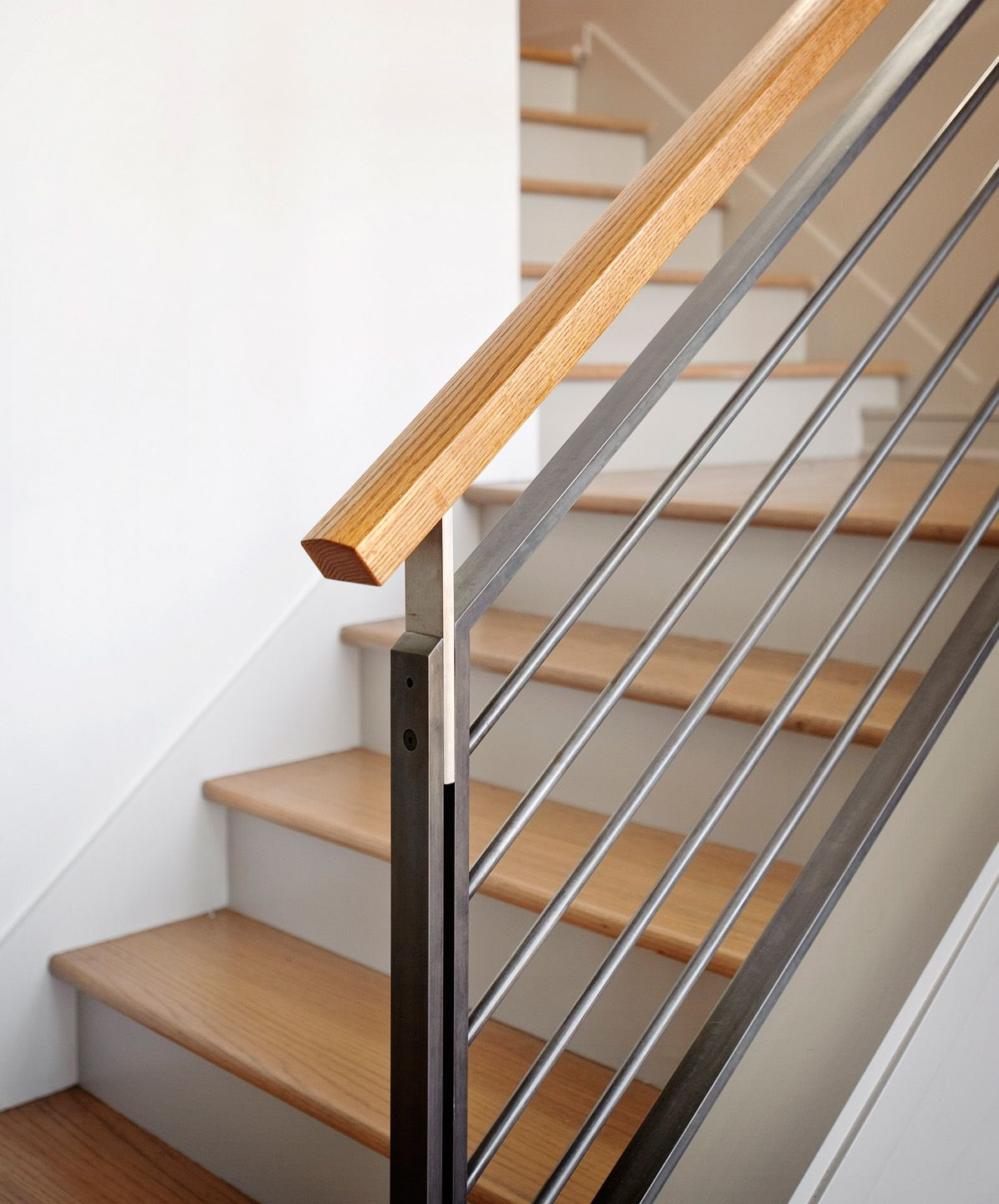 Decorating Stairs And Stair Railing: Interior Stair Railing, Interior