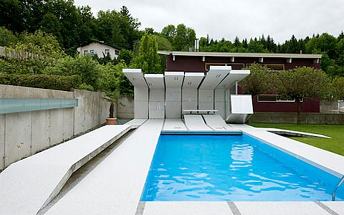 find this pin and more on swimming pool design - Modern Swimming Pool Designs