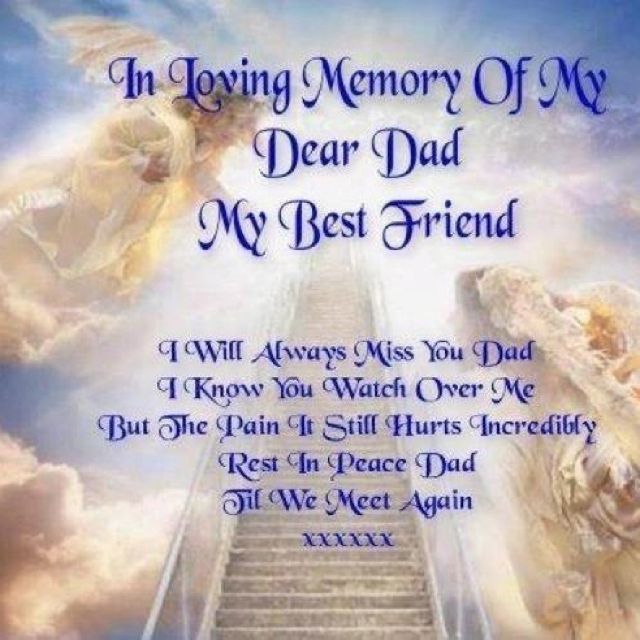 In Memory Dad Parent Daddy