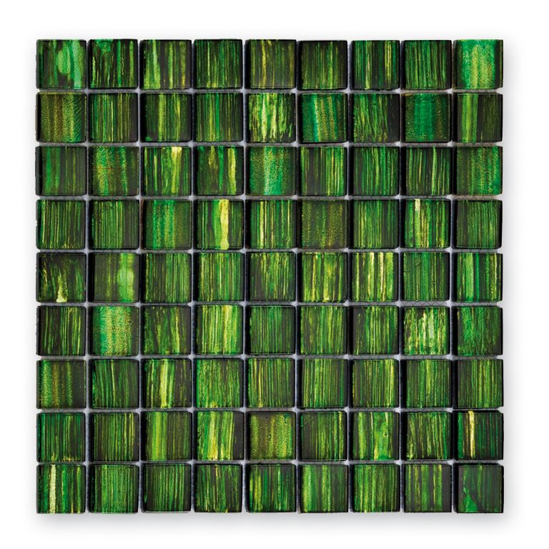 mosa que verre glasmosaik gl 13001 3x3 cm carrelage