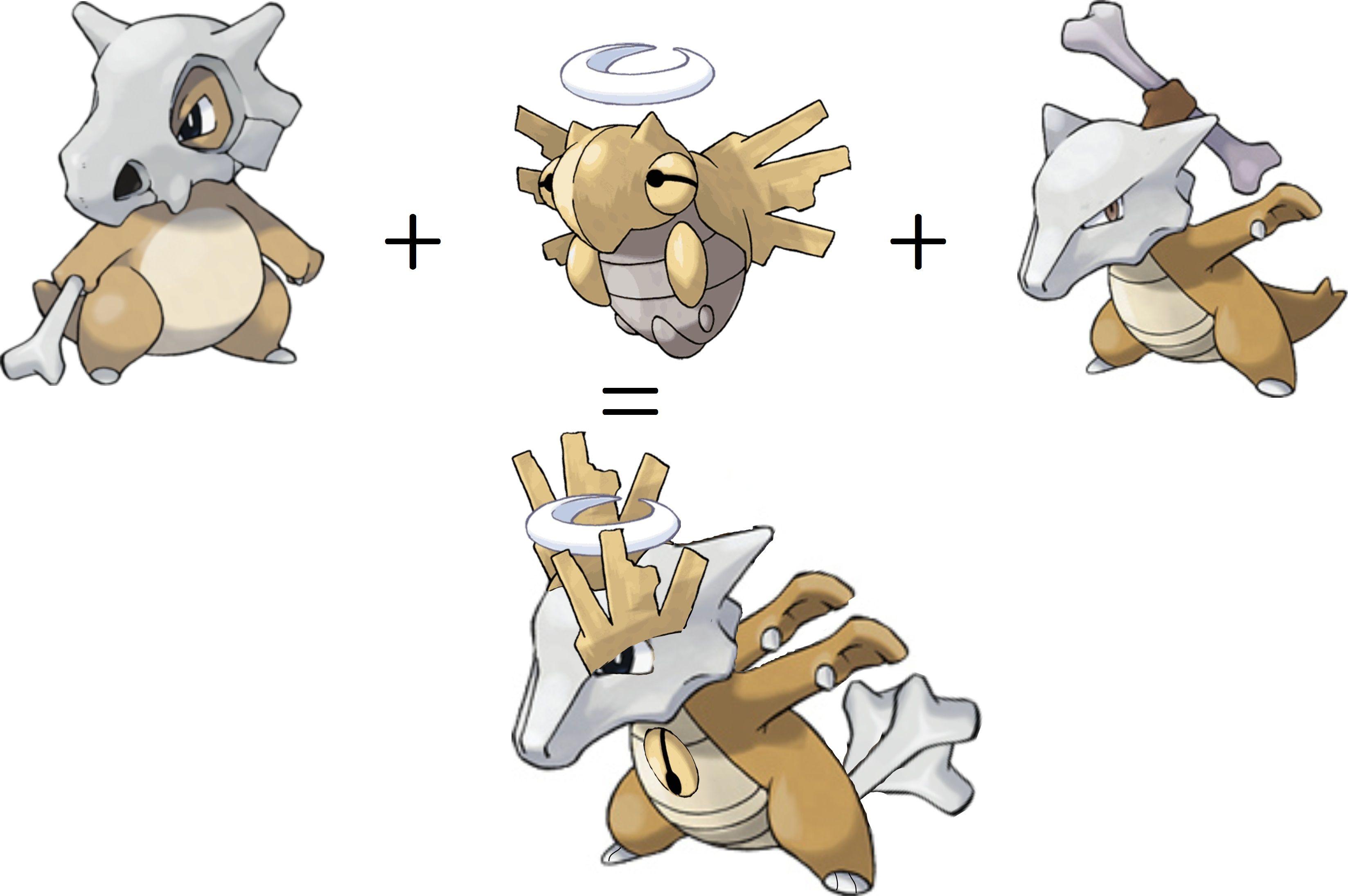 Cubone shedinja marowak pokemon pinterest pokémon