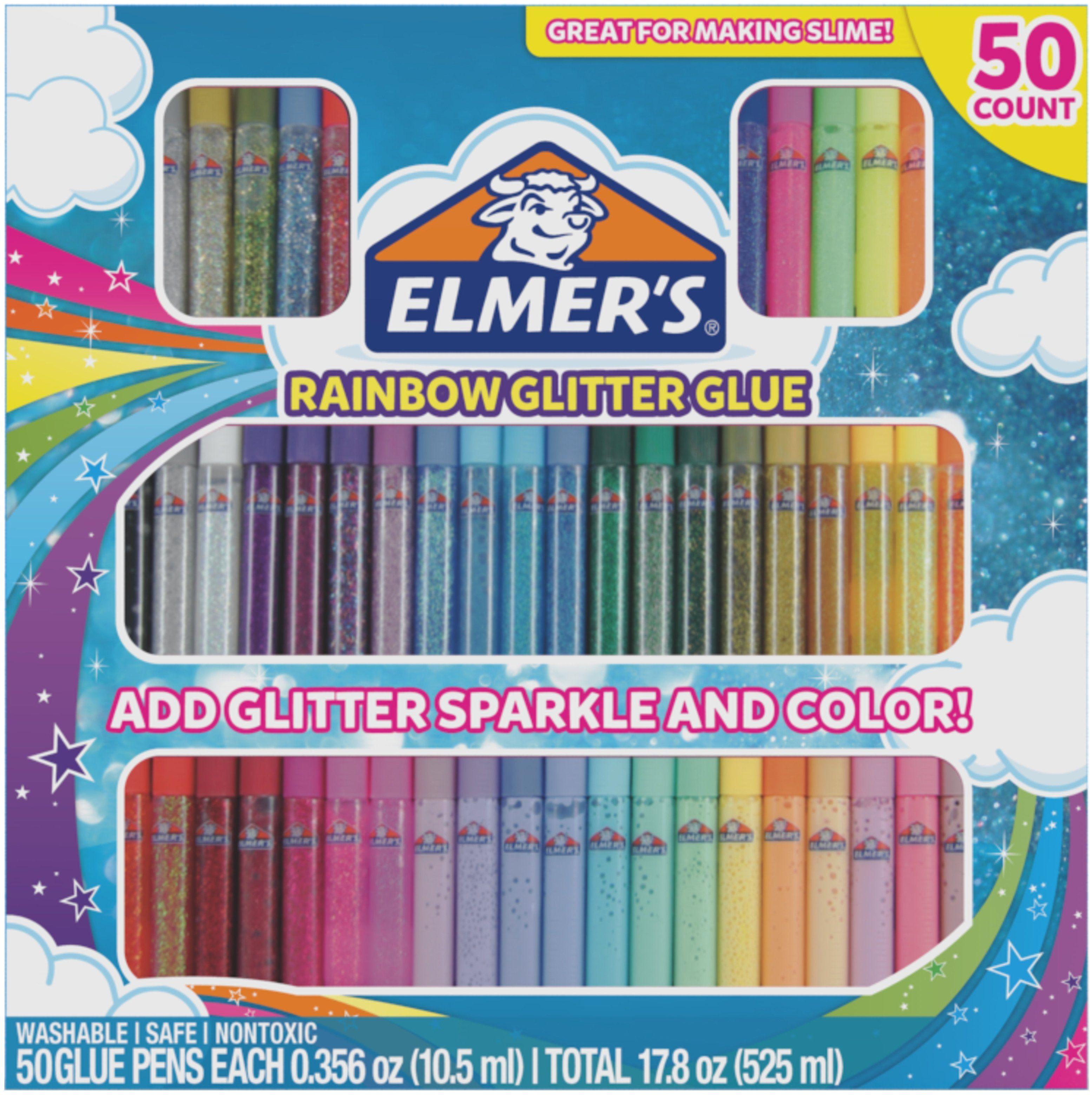 10 Set Glitter Glue Pens Creative Fun Sparkly Children/'s Paint Markers Non Toxic